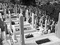 Muslim cementery in Sarajevo by adrianicz.JPG