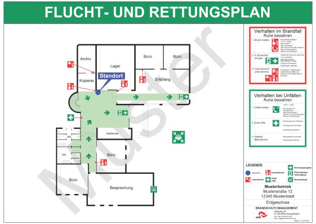 Datei Muster Flucht Und Rettungsplan Nach Din Iso 23601