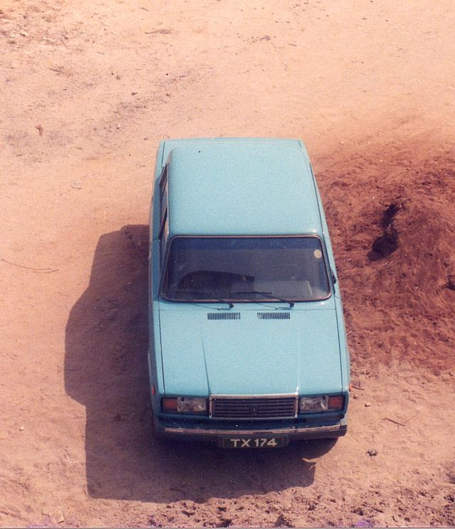 My Lada 2107 in Zanzibar (3076060329)