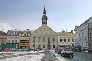 Vysoké Mýto Town in the Czech Republic
