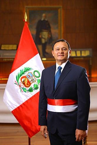 Cabinet of Peru - Image: Néstor Popolizio