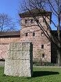 Nürnberg Frauentormauer Blaues V Feldseite 2.jpg