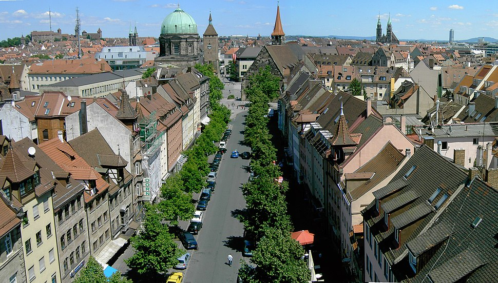Nürnberg panorama