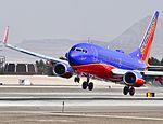 N793SA Southwest Airlines 2001 Boeing 737-7H4 C-N 27888 (6816287112).jpg
