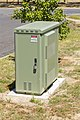 NBN FTTN cabinet, manufactured by CommScope, located in Junee 1.jpg