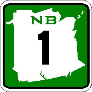 New Brunswick Route 10 - Image: NB 1