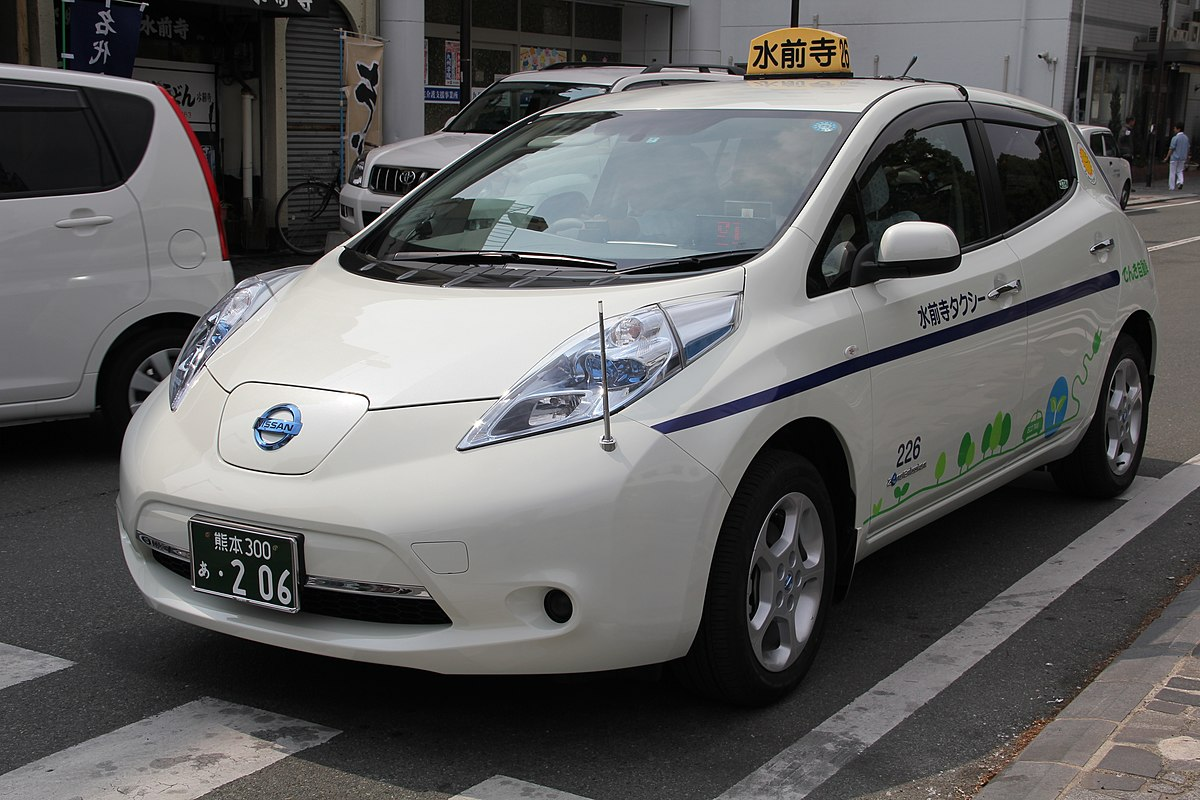Plug In Electric Vehicles In Japan Wikipedia