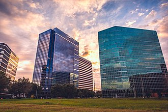 National Oilwell Varco - NOV Tower in the Westchase district of Houston, Texas.