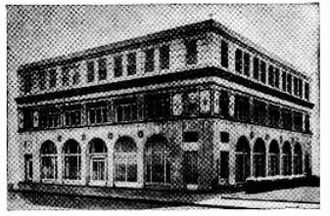 National Radio Institute - NRI's main office building at 16th and U Street NW in Washington D.C., home of the school from 1927 to 1957.