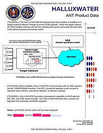 NSA HALLUXWATER