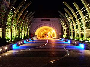 National Sun Yat-sen University - The university tunnel