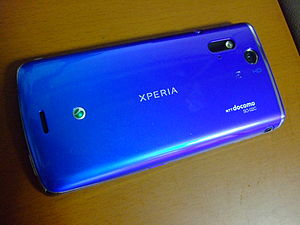 Sony Ericsson Xperia acro - Image: NTT DOCOMO XPERIA ACRO SO 02C REAR