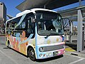 Nagai Un'yu My Bus 888 at Maebashi Station 02.jpg