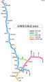 Nagasaki electric tramway line map JA.png