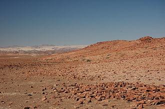 Kaokoland - Rocky desert in Kaokoland