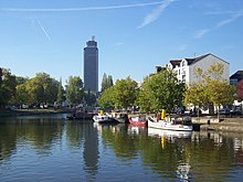 Photo of the Erdre in Nantes