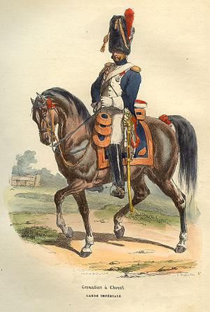 Grenadiers à Cheval de la Garde Impériale - A Horse Grenadier