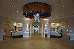 National Cowgirl Museum and Hall of Fame - Interior of the National Cowgirl Museum and Hall of Fame