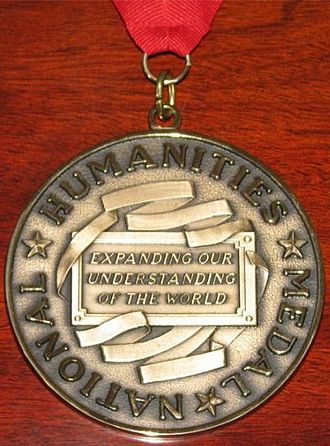 National Humanities Medal - The obverse of the National Humanities Medal