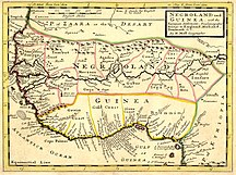 ベナン-歴史-Negroland and Guinea with the European Settlements, 1736