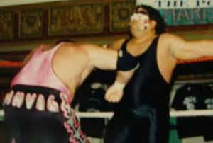 Jim Neidhart - Jim Neidhart vs. Falcon Coperis UCW 1997