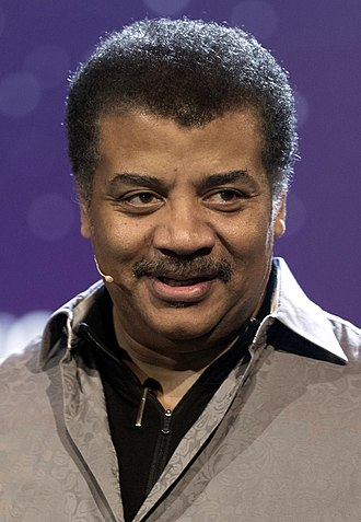 Neil deGrasse Tyson - Tyson in 2017 receiving Stephen Hawking's Science Award