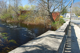 Nemasket River - Nemasket River at East Main Street