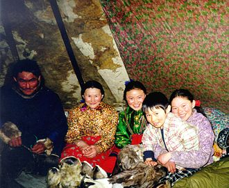 Nenets people - Nenets family