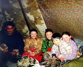 Yamal Peninsula - A Nenets family