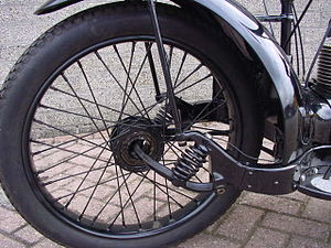 Ner-A-Car - Front suspension of 1923 Ner-A-Car