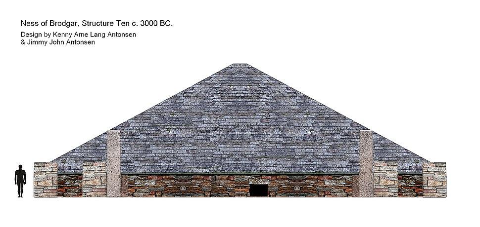 Ness of Brodgar, Structure Ten