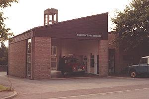 Nether Stowey - Nether Stowey fire station