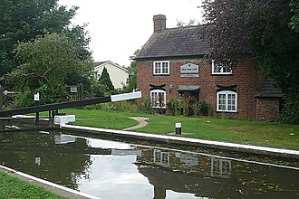 New Haw - Image: New Haw Lock geograph.org.uk 949085