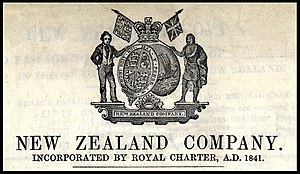 New Zealand Company ships - New Zealand Company Coat of Arms