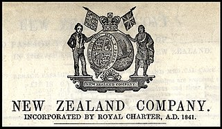 New Zealand Company company formed for the purpose of colonising New Zealand