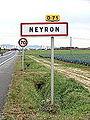 Neyron-FR-01-panneau d'agglomération-01.jpg