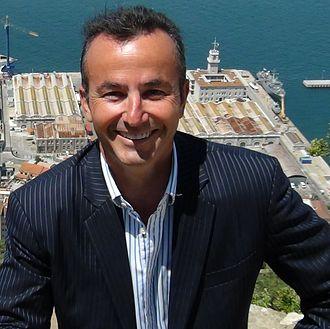 2013 Gibraltar by-election - Image: Nick P Cruz PDP Leader
