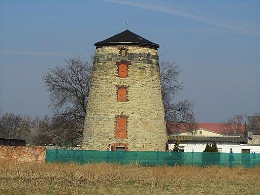 Nienburg. Windmühle