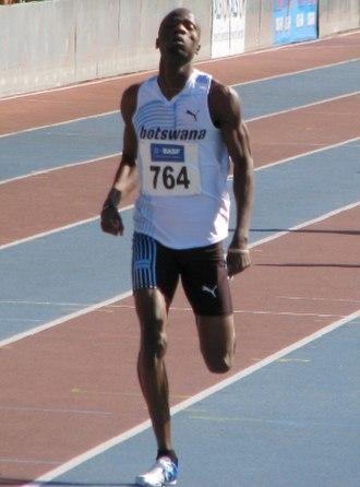 Nijel Amos - Amos at Mannheim Competition 2012