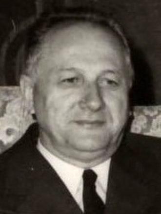 President of the Presidency of SR Serbia - Image: Nikola Ljubičić Crop