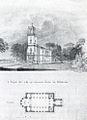 Nikolskoe erster Kirchentwurf Schadow 1833.jpg