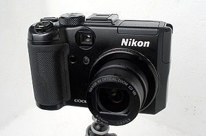 The Nikon Coolpix P6000 with integrated GPS.