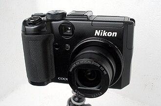 Nikon Coolpix P6000 - Image: Nikon Coolpix P6000