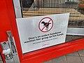 No Dinosaurs and other pets allowed, Bristol Winschoten (2018).jpg
