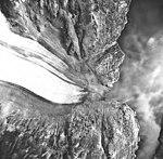 Noortheastern Glacier, terminus of valley glacier, August 22, 1968 (GLACIERS 6677).jpg