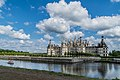 North-west exposure of the Chambord Castle 04.jpg
