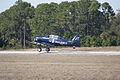 North American SNJ-4 Texan VMF-231 Takeoff TICO 13March2010 (14576327456).jpg