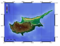 North Cyprus Topographic Map.png
