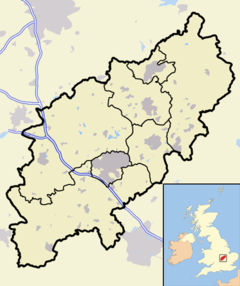 Earls Barton is located in Northamptonshire