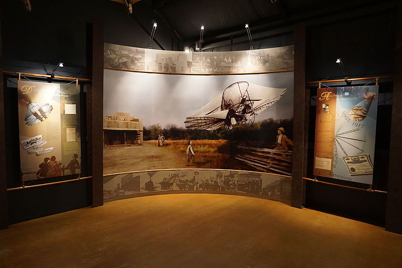File:Northeast Texas Rural Heritage Museum August 2015 36 (Ezekiel Airship exhibit).jpg